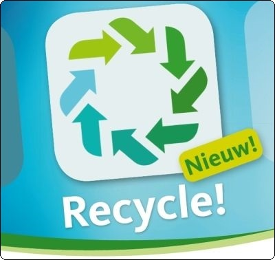 Download de Recycle! app om nooit nog een ophaling te missen.
